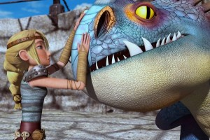 """A scene from DreamWorks Animation TV show, """"Dragons: Riders of Berk."""""""
