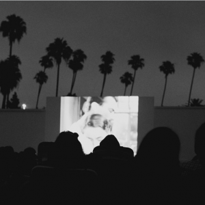 Cinespia's screening take place every Saturday during the summer at the Hollywood Forever Cemetery.