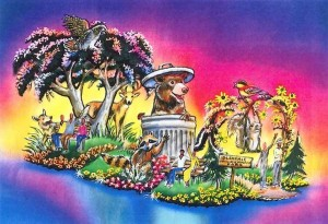 Glendale's submission for the 2014 Rose Parade.