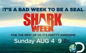Shark Week starts on Sunday, August 4th on the Discovery Channel.