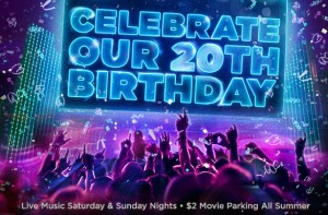CityWalk celebrates its birthday in true Hollywood fashion with events going on all summer.
