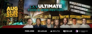 The Third Annual Los Angeles Food & Wine Festival will start August 22 and continue on through August 25.