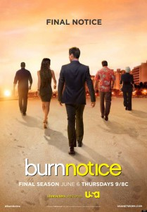 Burn Notice series finale airs on Thursday, September 12.