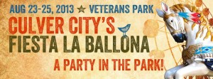 Culver City's Fiesta La Ballona will kick off Friday, August 23 and will conclude Sunday, August 25.
